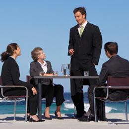 Meeting-on-Beach
